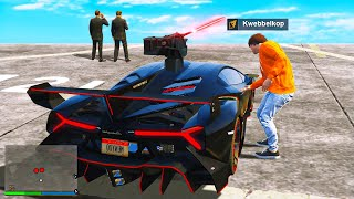 Stealing A $1,000,000 MILITARY Supercar In GTA 5 RP!
