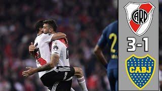 River Plate vs Boca Juniors 3-1 | Resumen Goles | River Campeón | Final Copa Libertadores 2018