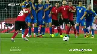 Албания – Украина 1:3. Обзор товарищеского матча.
