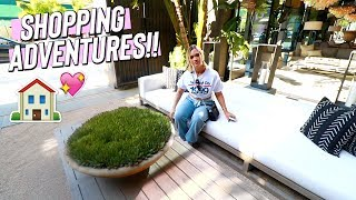 SHOPPING FOR OUTDOOR FURNITURE!! HOME DECOR!