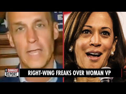 Right-Wing FREAKS Over Woman VP