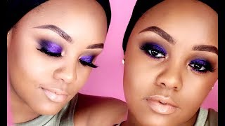 HOW TO DO A PURPLE SMOKEY EYE