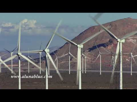 Wind Turbine 3003 HD Stock Video Footage