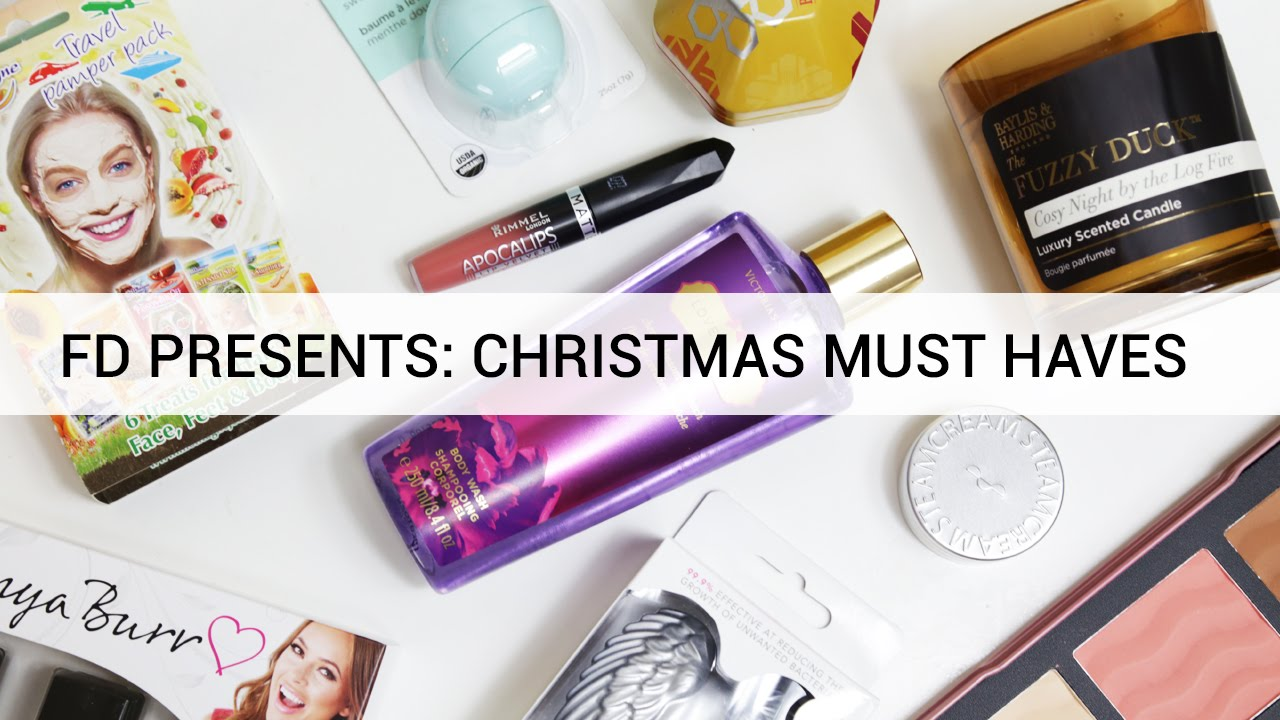 fd presents christmas must haves - Christmas Must Haves