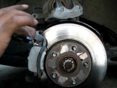 1999 Toyota Solara Se Front Brakes Replaced