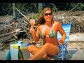 BIKINI GIRL shows YOU HOW TO MAKE MIMOSAS...cocktails not just for breakfast:)