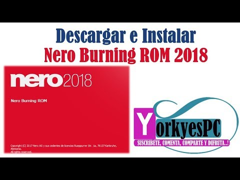 download and install nero burning rom 2018 full