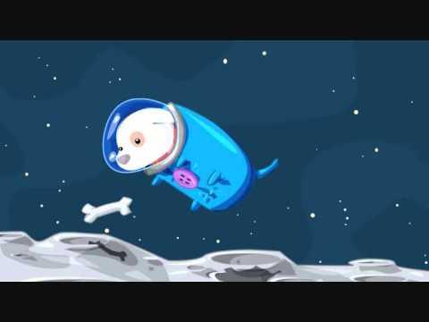 fall dog bombs the moon