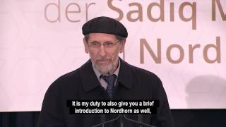 Foundation Stone Ceremony of Sadiq Mosque - Nordhorn, Germany