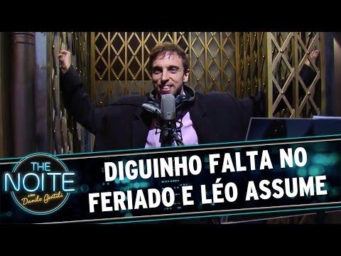 The Noite (21/04/16) - Diguinho Falta Na Gravação E Irrita Danilo Gentili