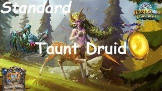 Hearthstone: Master Oakheart Taunt Druid Post-Nerf #17: Witchwood (Bosque das Bruxas) - Standard