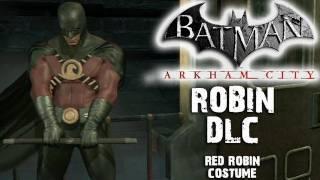 Batman: Arkham City - Red Robin Costume DLC