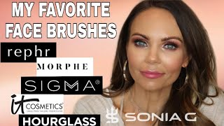 FAVORITE FACE BRUSHES | HIGH END AND AFFORDABLE | PART 1 |