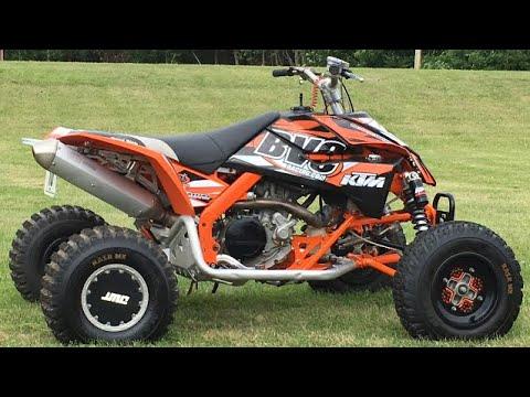 The Best Production 450 Sport ATV Ever? KTM450SX   KTM Riding Fun Sand Track BVC Racing