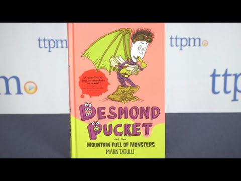 Desmond Pucket and the Mountain Full of Monsters from Andrews McMeel Publishing