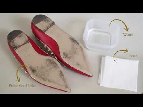 How to manage and clean up your Preserveed soles