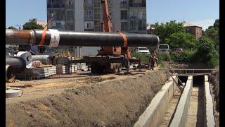 Масштабная реконструкция трубопроводов в центре города - 18.06.2021