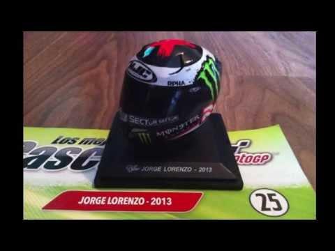 (25) 1/5 Lorenzo 2013, MotoGP Helmet.