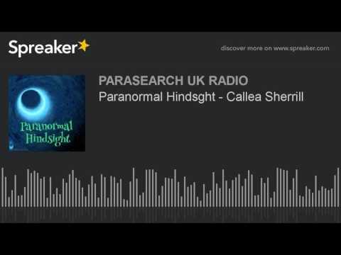 Paranormal Hindsght - Callea Sherrill