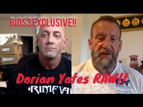 NEW : Dorian Yates -  Raw and UNFILTERED! Part 1