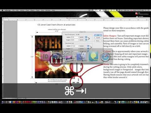 Turn a web header or graphic into a DVD label and DVD Jewel Case Cover Part 1a