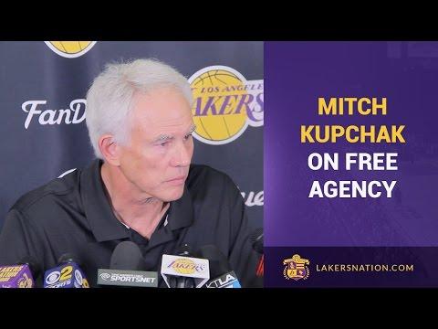Mitch Kupchak On Lakers & NBA Free Agency