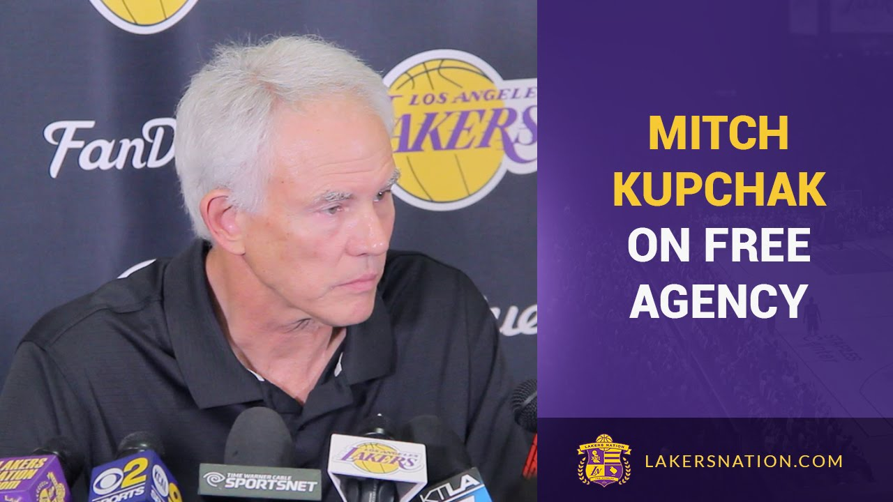 Mitch Kupchak Lakers & NBA Free Agency