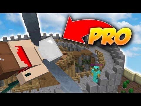 BASE SÉCURISÉE DE PRO VS NOOBS - Minecraft VERSUS (Attaquants Défenseurs)