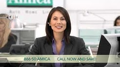 Amica auto insurance formula for value  New car commercial