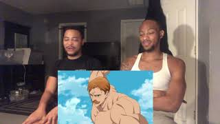 First Time Seeing Lord Escanor vs Galand & Melascula (REACTION)