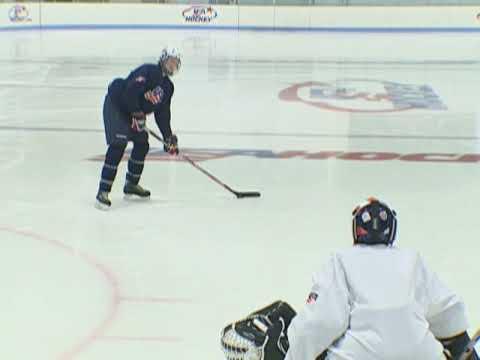 USA Hockey Skills and Drills - Wrist Shot
