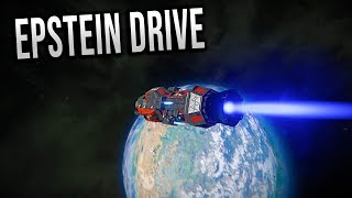 Working EPSTEIN DRIVE! - Space Engineers: The Expanse!