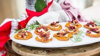 Haylie Duff makes Sweet Potato Bites - Home & Family YouTube Videos