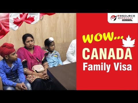 Canada Visitor Visa - Surinder Singh With Whole Family - Multiple Entry Visa