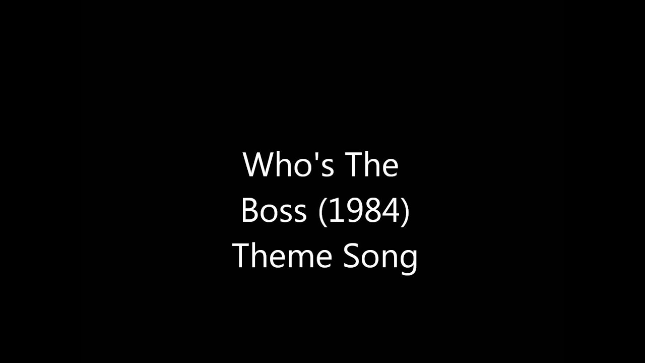 Whos The Boss Theme Song Youtube