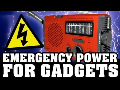 Emergency Power to Keep Your Cell Phone Charged!