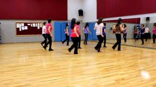 Blurry Lines - Line Dance (Dance & Teach in English & 中文)