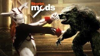 Werebear vs. Vasto Lorde - Top 5 Skyrim Mods of the Week