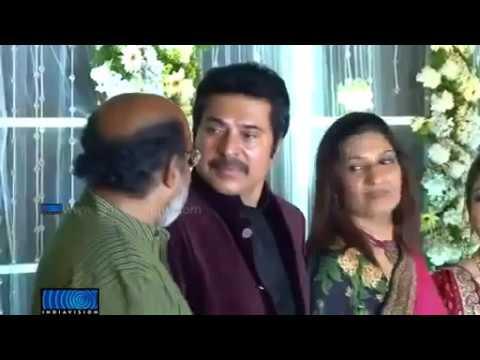 Mammootty Son Dulquar Salman Wedding Reception Video From Indiavision