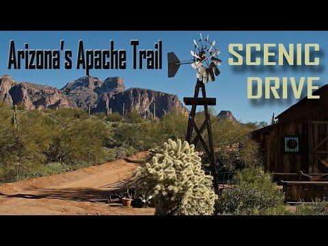 WOW - Driving the Apache Trail near Phoenix AZ