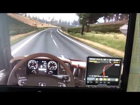 Euro Truck Simulator 2 максимальная скорость!