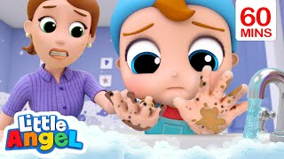 Be Safe! Wash Your Hands! | Healthy Habits Song | Little Angel Kids Songs