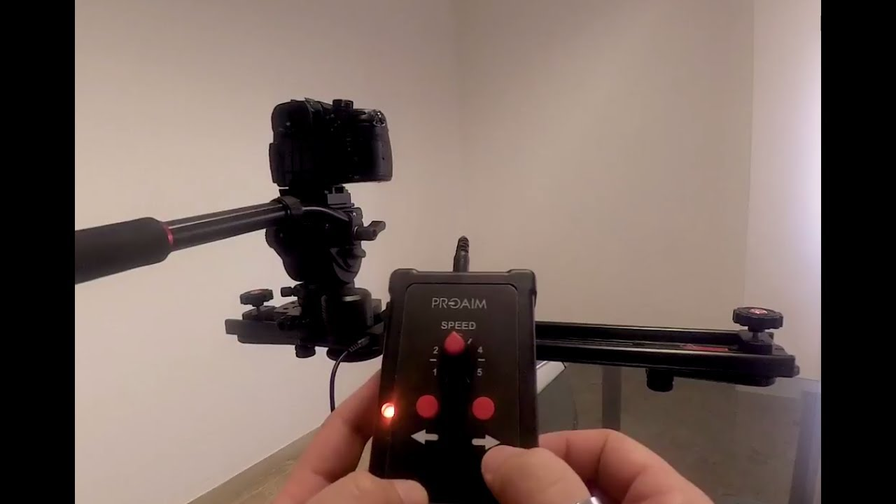 Get motorized slides with zeal video camera slider proaim for Motorized camera slider timelapse