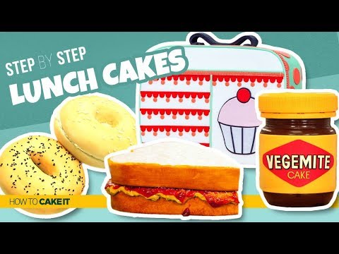 4 Exciting Lunch CAKES | Sandwiches and Spread As CAKE | How To Cake It | Yolanda Gampp