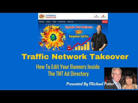Traffic Network Takeover How To Edit Banners in The Ad Directory