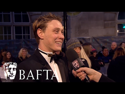 George Mackay Red Carpet   BAFTA Film Awards 2017
