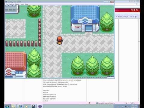 Pokemon leaf green gpsp cht file