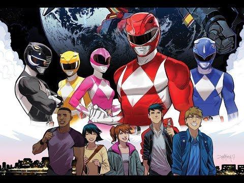 Go Go buy this comic right now! Go Go Power Rangers #1