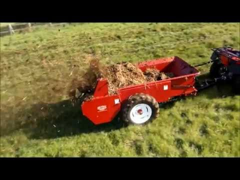 Millcreek 57 Ground Driven Manure Spreader.wmv