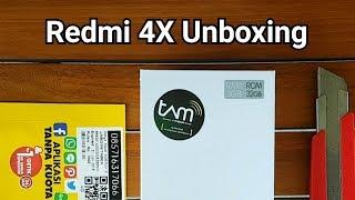 UNBOXING Xiaomi Redmi 4X Resmi - Alternatif di 2 Jutaan?